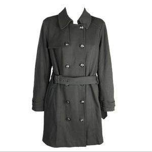 INC Concepts Olive Green Military Style Coat